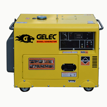 5kw 6KVA cheap silent portable diesel generator