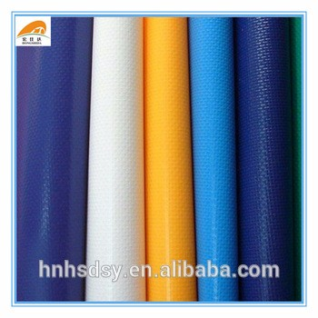 UV protection plastic fabric used canvas tarpaulin