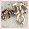 Fashional Accessories Shoe Decorative Metal Buckle