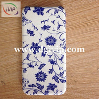 IVIP Flower water transfer printing film Metal cell phone case hydro dip cover AP520