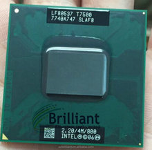 Brand New Intel Core 2 Duo Mobile Processor T7500 SLAF8 LF80537GG0494M 4M Cache 2.20 GHz CPU Wholesale