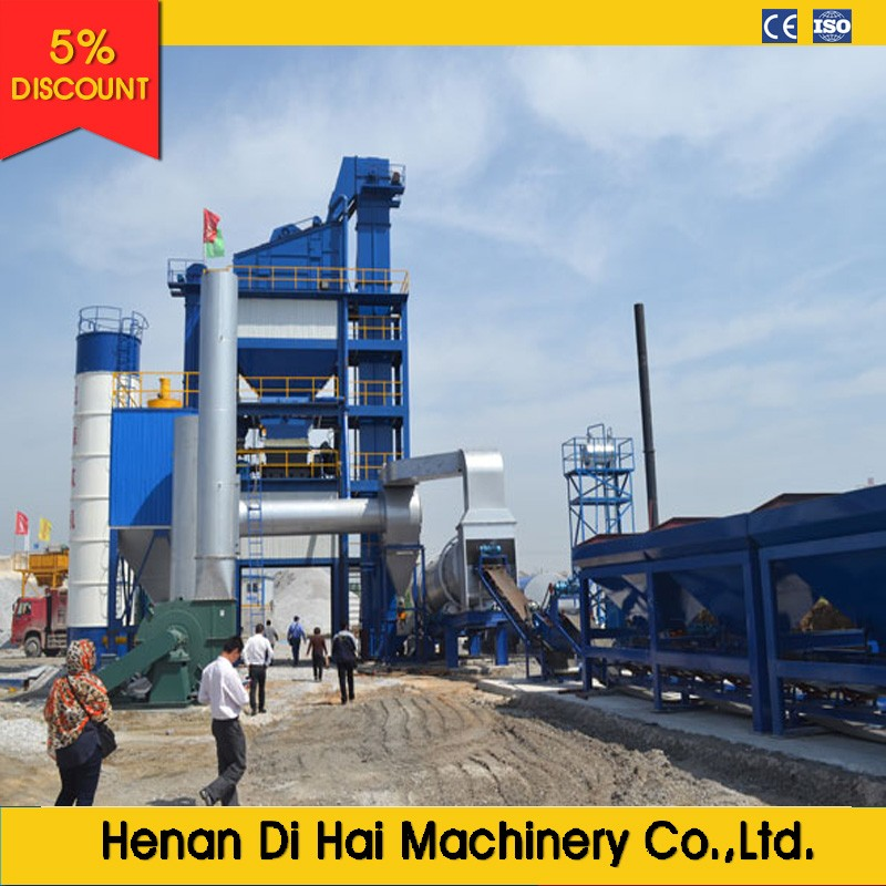 LB1000 80tons per hours asphalt batch mix plant with competitive price for sale