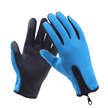 Neoprene outdoor sports men safety working warm winter hand gloves