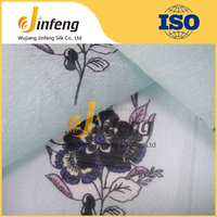 New design fashion low price pleated polyester fabric