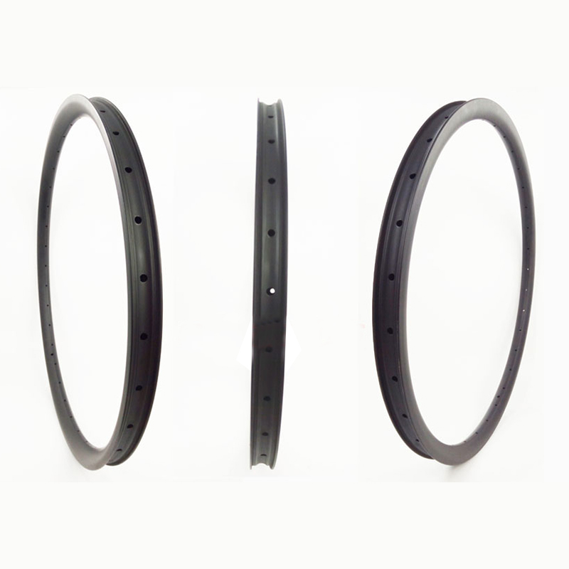 Hot Selling 30mm Deep Asymmetric Carbon Rims Bicycle Rim 29er Carbon Rims