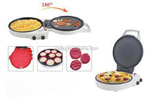 Hot sale pizza cone maker machine,induction mini frying pan