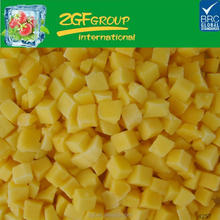 iqf frozen fruit mango with different shape,use for salad
