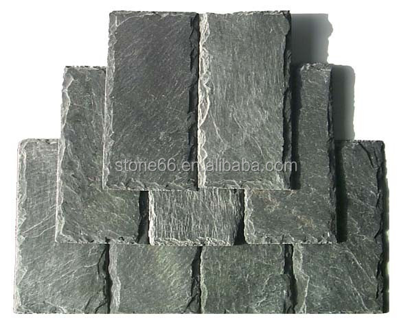 Factory low price hot sale decorative black roofing slate