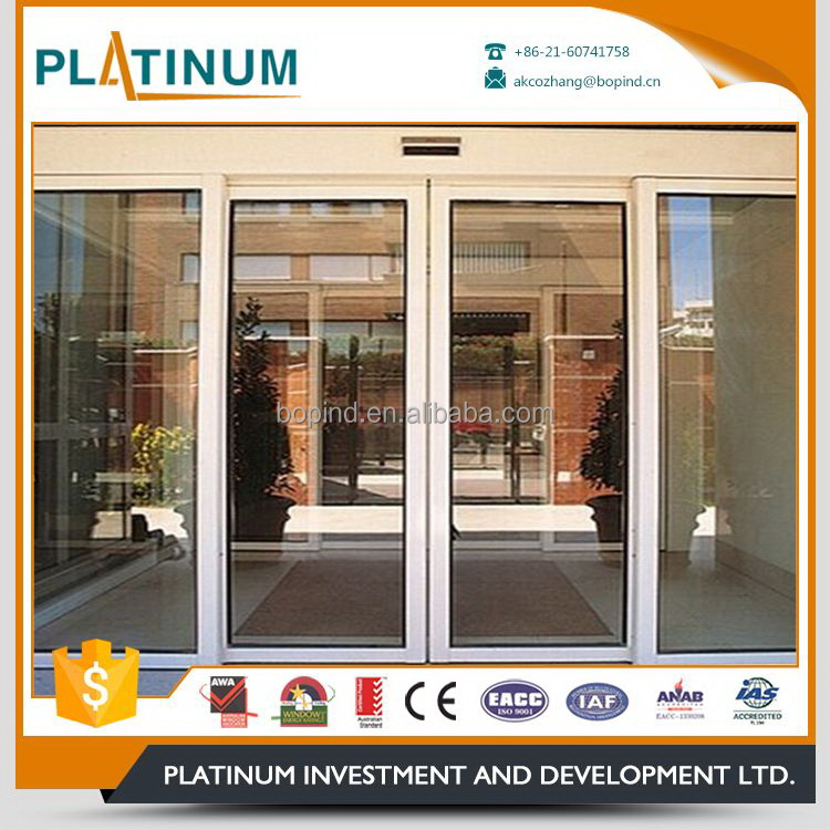 Factory wholesale new arrival fire rated automatic sliding door