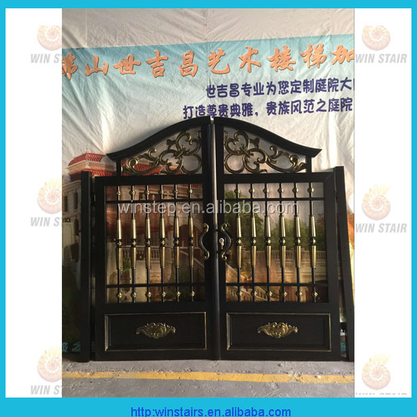 New kinds of Aluminum main gate designs for villa use