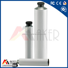 customized new design aluminum cosmetic packing tube with screw lid