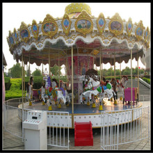 New design amusement equipment carousel horse wholesale