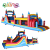 2016 top quality China giant commercial inflatable Jumping castle slide games sale for kids