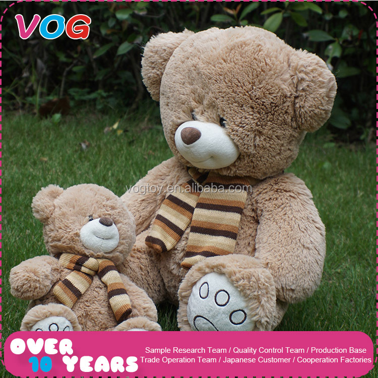 2017 OEM & ODM wholesale mini plush toy stuffed animals bear soft giant teddy bear custom
