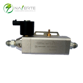 LNG engine air intake system regulator