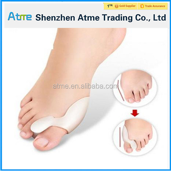 Silicone Gel foot fingers Toe Separator thumb valgus protector Bunion adjuster Hallux Valgus Guard feet toe seperator protector