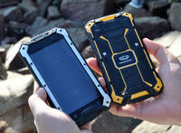 Best selling Conquest S6 4G LTE Smartphone MTK8732 Quad Core Rugged IP68 Waterproof Shockproof Smartphone Android 4.4 OS