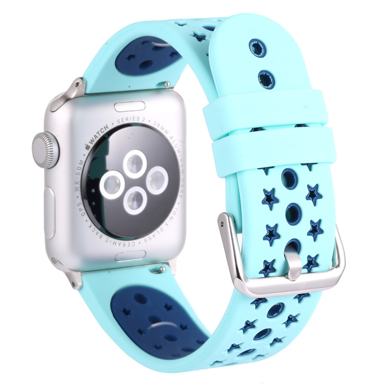 Sport Band Silicone Strap Bracelet Replacement for Apple Watch 42mm