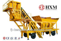 High Quality Mobile Concrete Batching Plantmixing plant concrete mixing YHZS25