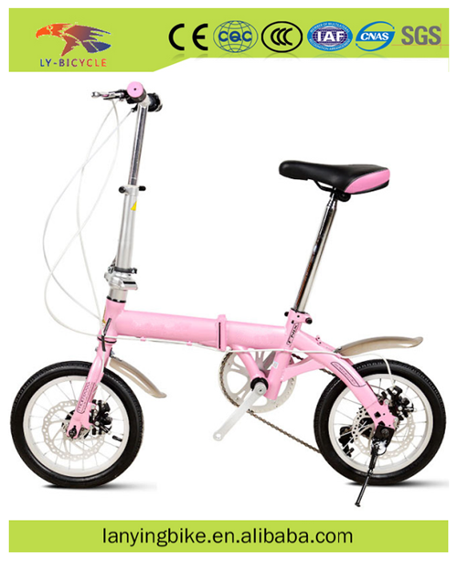 7 Speeds folding outdoor bicycle /14 inch folding mini bike /Cheap city gas bicycle /Classic road mini bikes for sale cheap