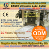 24 hours working Assembly line automatic label cutting ultrasonic knife