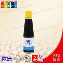 New design 200ml continental sugar free Gluten- free soy sauce with customer design logo
