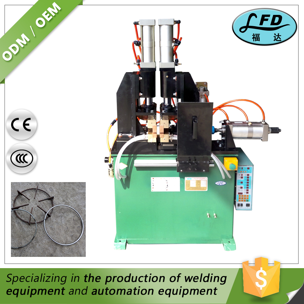 Pneumatic Power Frequency Ac Flash Resistance Butt Welding Machine
