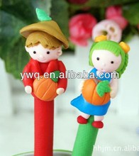 pen with shaped clip Novelty fruit PEN creative pen for wedding