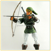 2015 Hot sale customized collectible legend of zelda games figures link action figure