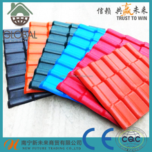 CE Certificated 3 Layer weatherproof ASA/PVC corrugated plastic roofing sheets