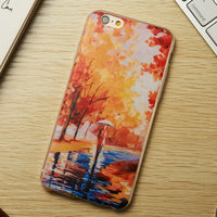 Custom Water transfer printing case for iPhone 5 /5s, for iphone 6 case custom printed