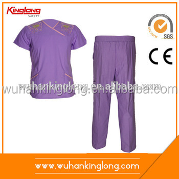China Manufacturer Medical Nurse Uniform Scrubs