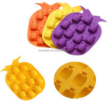 12 Pineapple shaped cake mold silicone chocolate molds