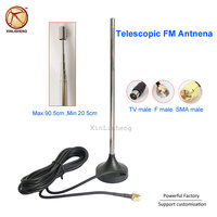 Cheap Magnetic Base Long range Radio Antenna Telescopic FM Antnena