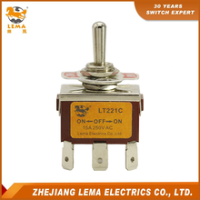 Wholesale LT221C Double Pole ON-OFF-ON Toggle Switch PCB