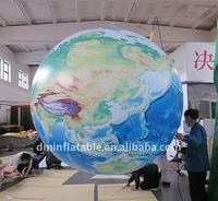 new digital printing advertising inflatable earth ball