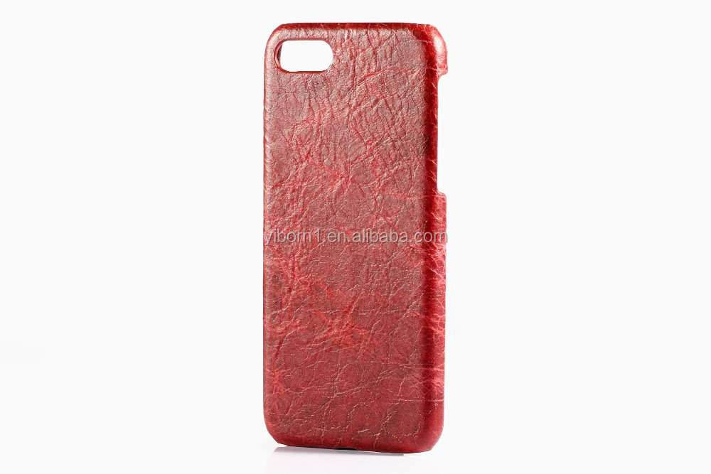 Slim Fit Protective Snap on Case For iPhone 7 Case genuine leather hard back case