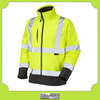 custom-made men's reflective water-poof hi vis softshell jacket