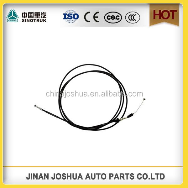 sinotruk howo dump truck part Clutch Cable Wg9725570002 for sale