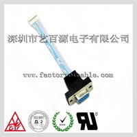 6 pin blue white ribbon cable connectors to vga cable wholesale in China