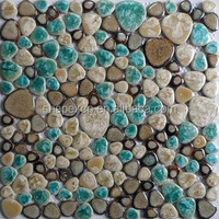 Indonesia mosaic pebble stone from China
