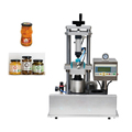 twist off cap vacuum capping machine for glass bottle