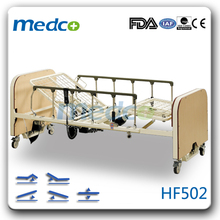 5 functions folding electric home care nursing bed HF502