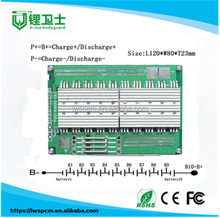 94v0 pcb board for battery powerful metal detector circuit/10s control board unicycle/smart bms 10s 36v liion battery bms/pcb