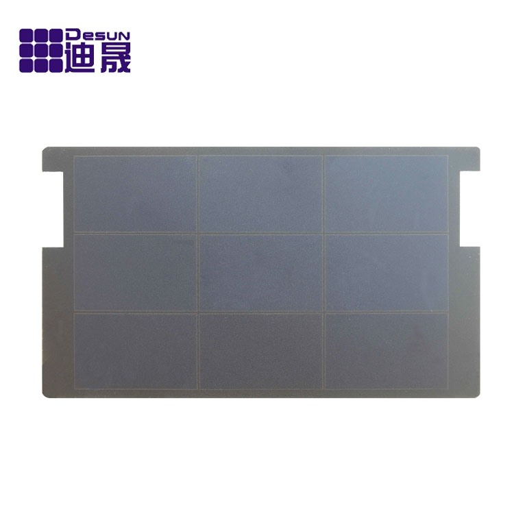 Monocrystalline silicon high efficiency solar panel, rollable solar panel 1.3W-140W