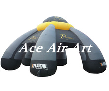 With Logo Free Air Blower Big large Grey spider Inflatable Event Tent