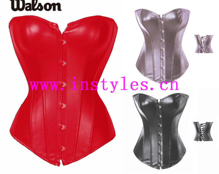 Sexy red black women shaper silm latex waist trainer coset