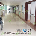 Anti-collision hospital plastic wall guardrail