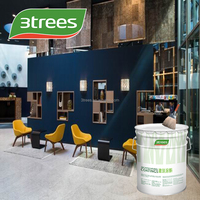 3TREES Hot Sell Multiple Color Acrylic Satin Interior Wall Finish Paint