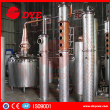 200L red copper industrial alcohol distillation equipment and machine
